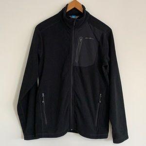 Eddie Bauer Cloud Layer Full-Zip Fleece Jacket SzM